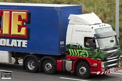 Volvo FM 460 6x2 Tractor - PX60 CWF - Alex Alicia - Green & Red - Eddie Stobart - M1 J10 Luton - Steven Gray - IMG_5968
