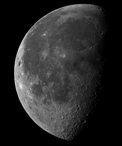 Moon prime focus - 070912 by Mick Hyde