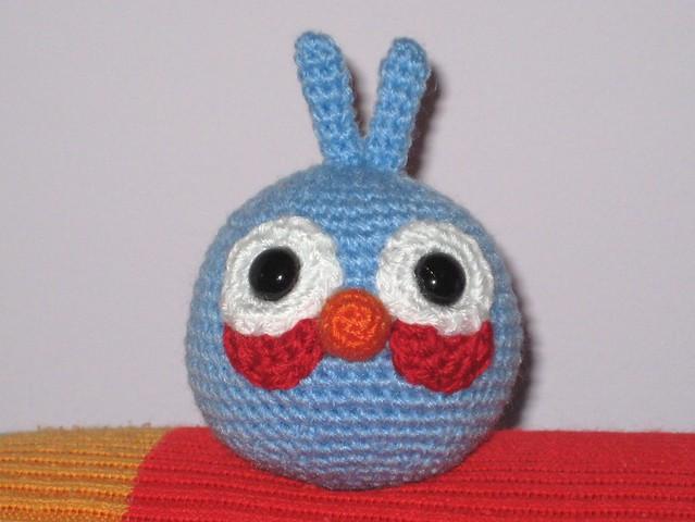Blue Angry Bird Amigurumi Pattern : Blue bird Flickr - Photo Sharing!