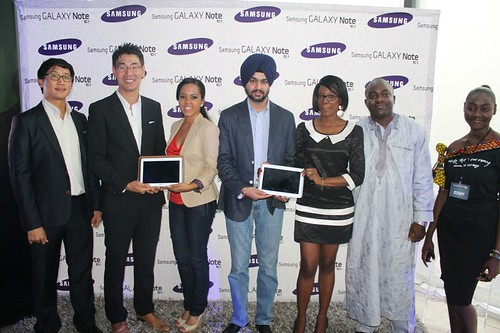 Samsung launches Samsung Galaxy Note 10.1 in Ghana