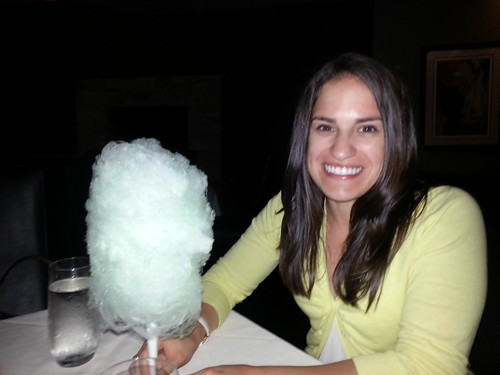 Cotton Candy at Alexander Steakhouse