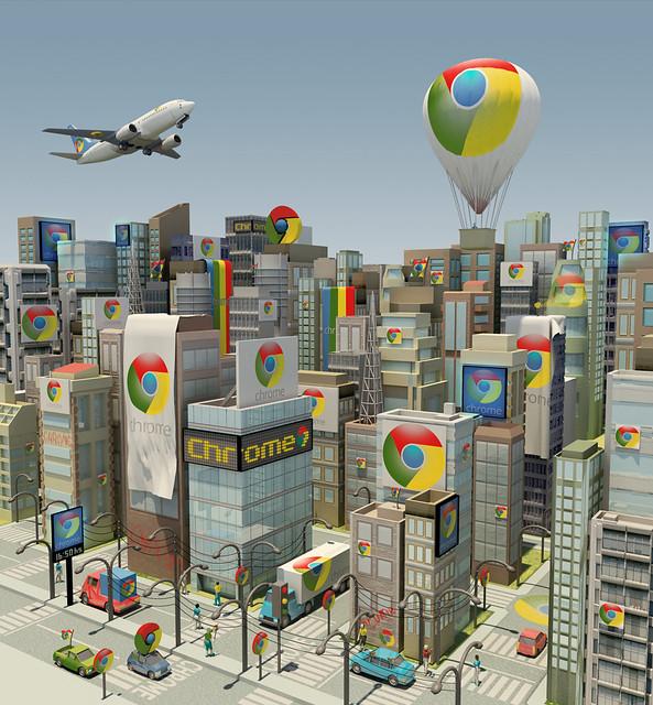 Chrome invadiu o mundo - Revista Info - Abril 2012
