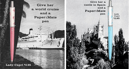 Paper Mate women's pen ad