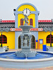Lego fountain