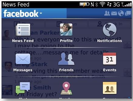facebookfor blackberry v32