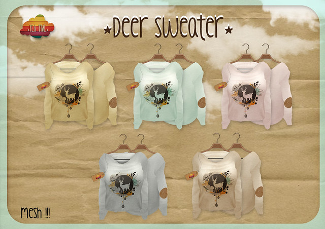 DEER SWEATER *Tea Time* NEW!!! <3