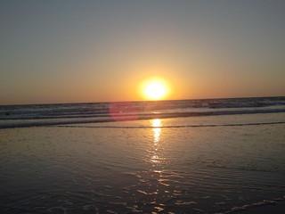 Imagen de Playa de la Cortadura cerca de Cádiz. sanfernando puestasol playacamposoto