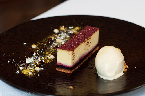 The Ledbury - Blackberry tart
