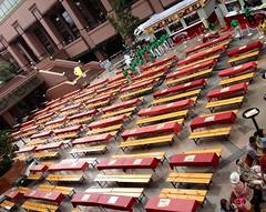 恵比寿麦酒祭2011、オープン10分前のメイン会場