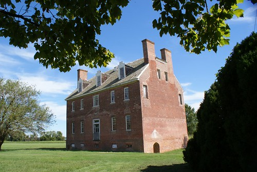 St. Francis Xavier Manor House, Newtowne Neck