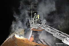 Dachstuhlbrand Homburger Str. 18.09.12