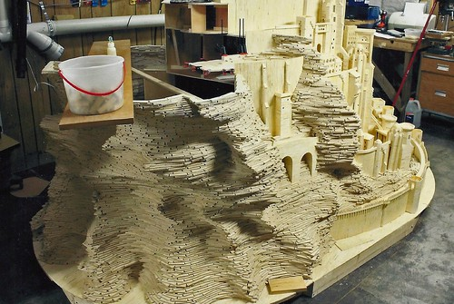 Beginning of Minas Tirith Model