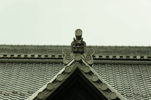 鬼瓦(輪王寺)