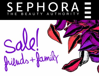 Sephora F&F Friends Family discount 20% 20 % sale coupon code 2012