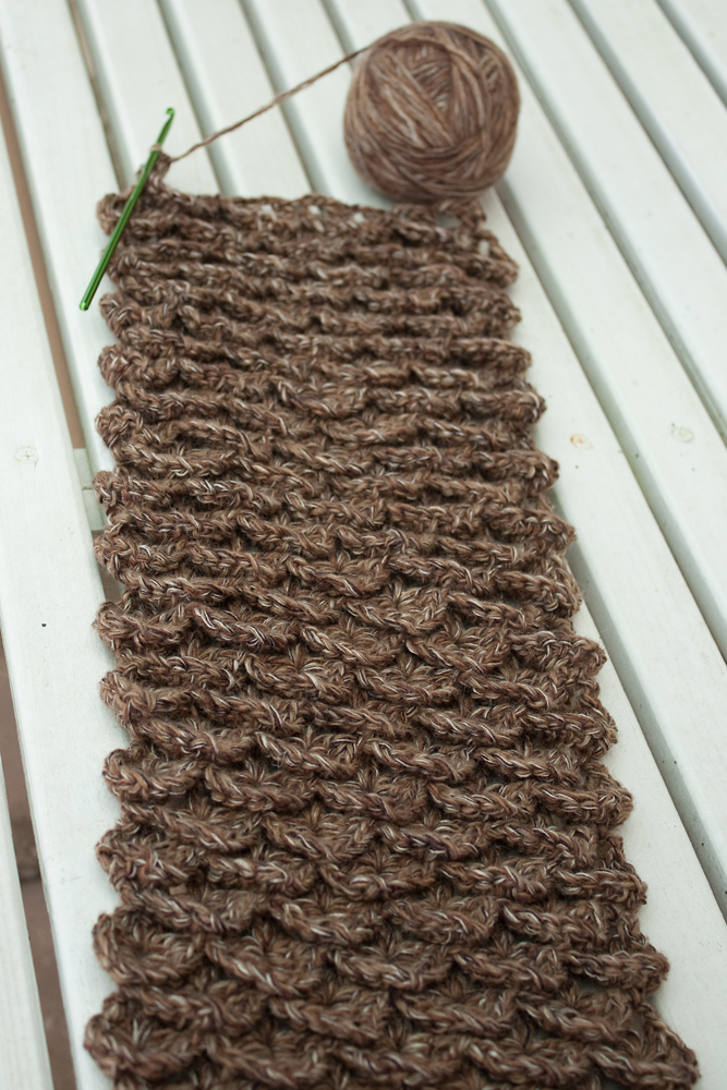 Pinecone Neckwarmer