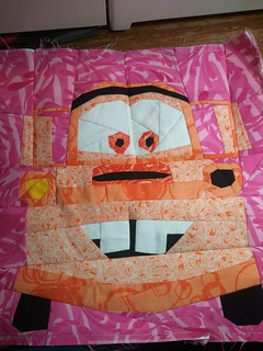 Orange mater block finished