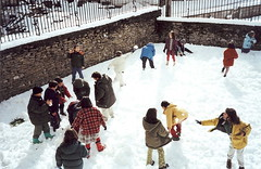 2001: Nieve en Aríñez.