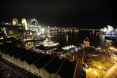 Darling Harbour New Years Eve 2009/2010