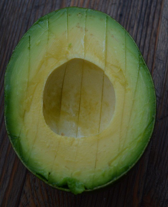 score the avocado