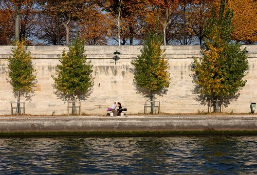 Lovers on the Seine