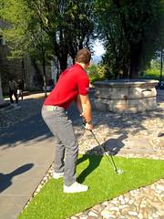 backyard(0.0), lawn(0.0), grass(1.0), sports(1.0), recreation(1.0), outdoor recreation(1.0), miniature golf(1.0),