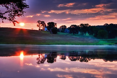 [免费图片素材] 自然景观, 河川・湖, 日出・日落 ID:201209260600