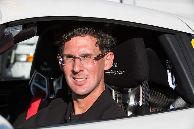Dr. Frank Walliser, overall project leader of 918 Spyder