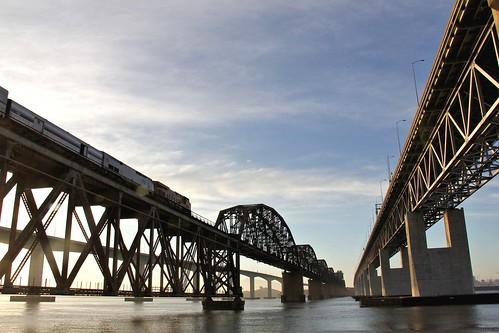 amtrak benicia capitolcorridor beniciabridge solanocounty carquinezstrait beniciarailroadbridge