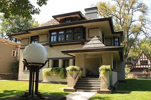 Edward R. Hills House by Frank Lloyd Wright - Oak Park - Chicago