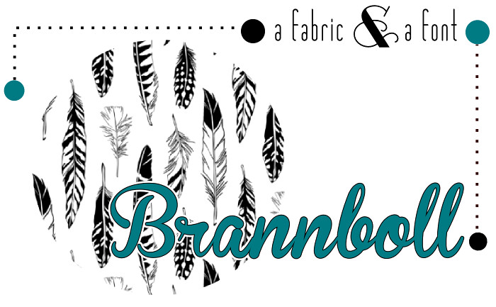 Brannboll + Spoonflower Feathers