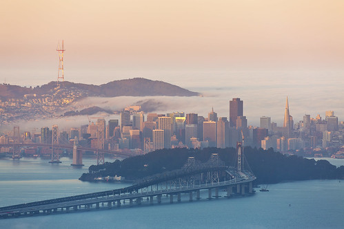 california morning pink sun fog sunrise island bay berkeley san francisco treasure good peak area grizzly 5d3