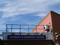 Highbury & Islington Station sign