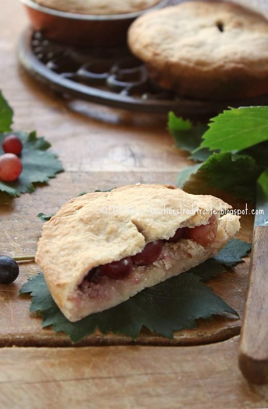 Pie con l'uva