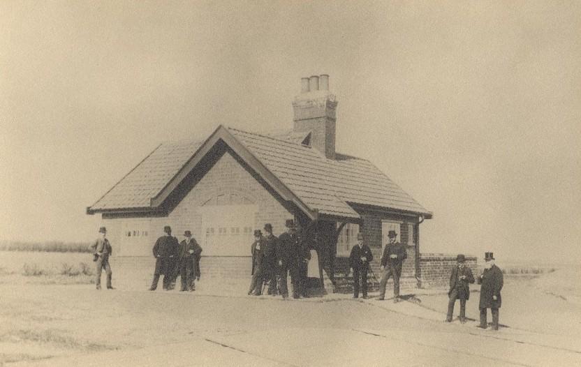 Opening of Driffield Waterworks 1880 (archive ref DDX2003-15-4)
