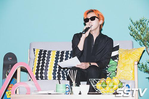 G-Dragon - Airbnb x G-Dragon - 20aug2015 - SSTV - 02