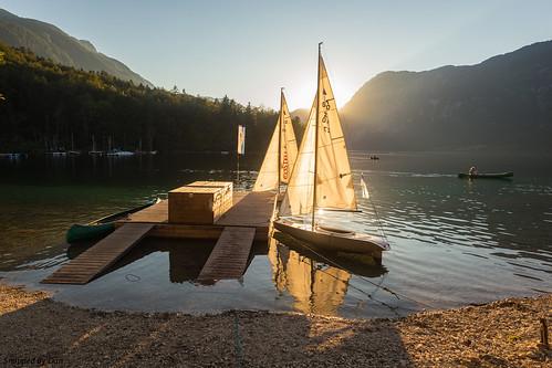 Boats at Bohinj