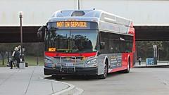 WMATA Metrobus 2016 New Flyer XN40 #2896