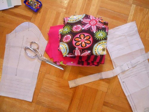 Four more Hopscotch dresses underway