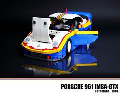 LEGO Porsche 961 Rothmans