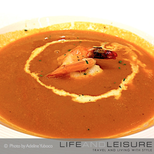 Shrimp Bisque Soup from Le Petit Cheri
