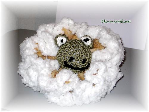 Critter Bath Sponge Frog