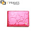 I´Praves Hot double pink wallet for females