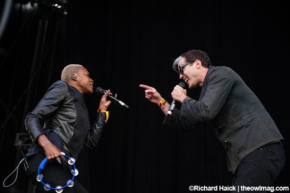Fitz and the Tantrums @ Outside Lands 2012