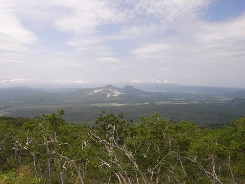 摩周湖第2展望台からの眺め