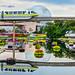 Reflections de Monorail by Kristopher Michael
