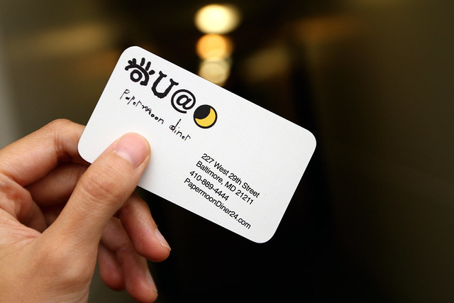Papermoon Business Card: by JihoNation