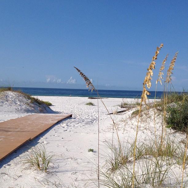 Bye Santa Rosa Island until next time #beach #florida #pensacolabeach #ocean