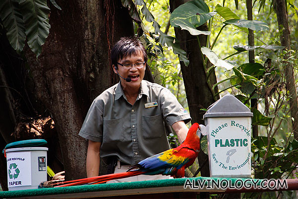 Teaching recycling