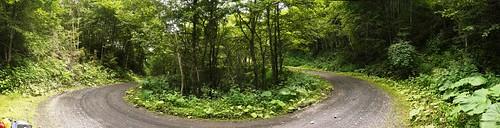 Tokoro-gawa mainstream logging road (常呂川本流林道 - near Lake Oketo, Hokkaido, Japan)