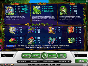 free Super Lucky Frog slot payout